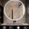 FENOMÉ ronde spiegel met LED verlichting incl. spiegelverwarming 100cm